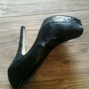 Madden Girl Shoes - Madden Girl sequined heel pumps